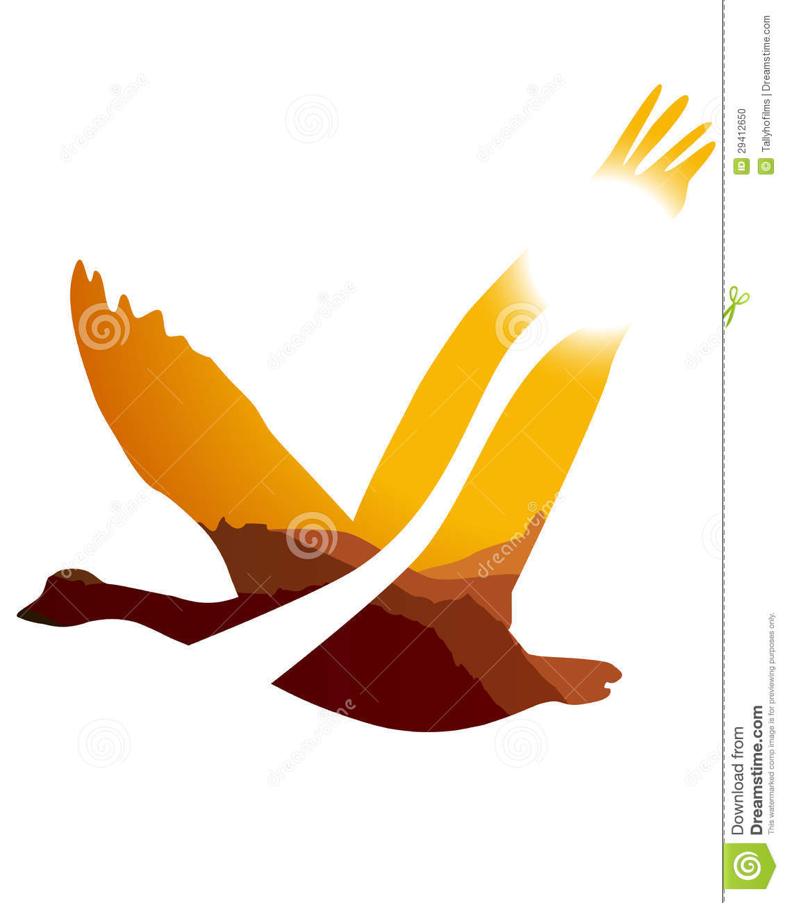 Dragon vector sign stock vector 313643336 shutterstock - Flying Goose Outline Viewing Gallery
