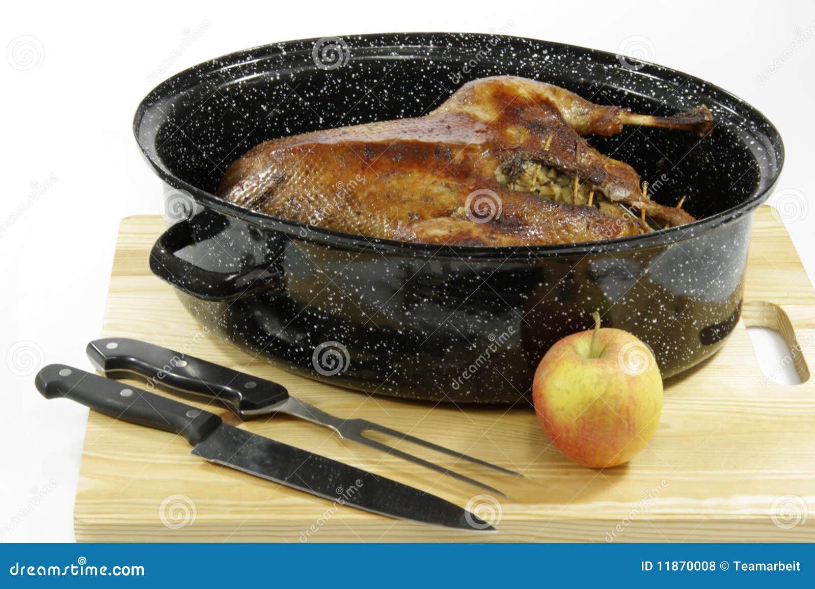 Goose Roast Royalty Free Stock Photos - Image: 11870008