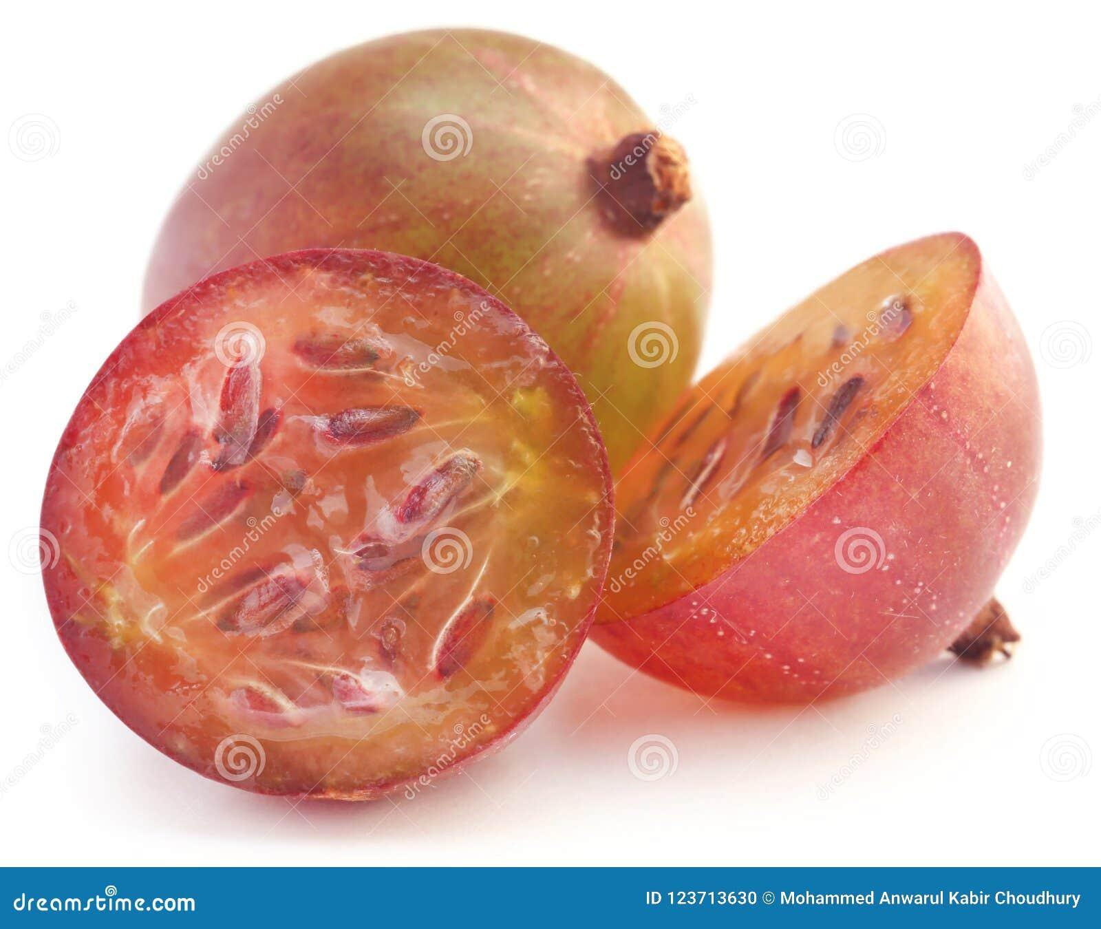 Gooseberry maduro fresco