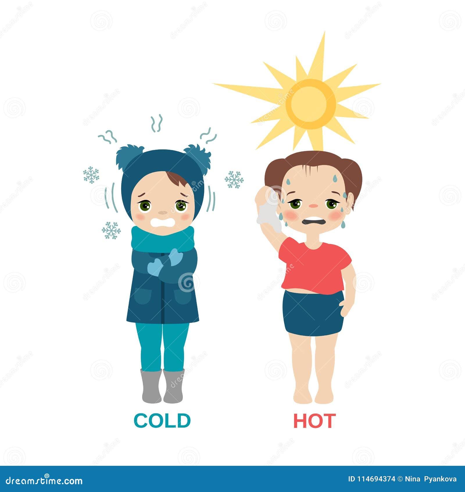Gorąca i zimna dziewczyna