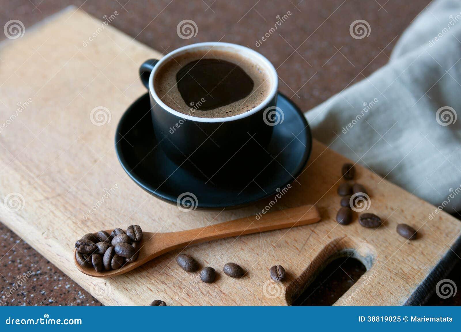 Gorąca kawy espresso kawa