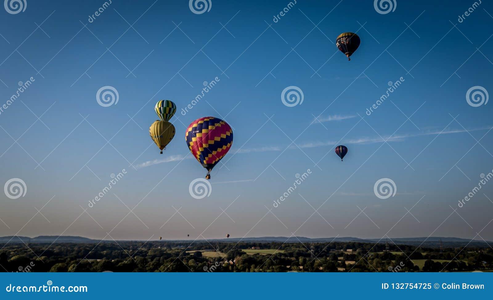 Gorące powietrze balony
