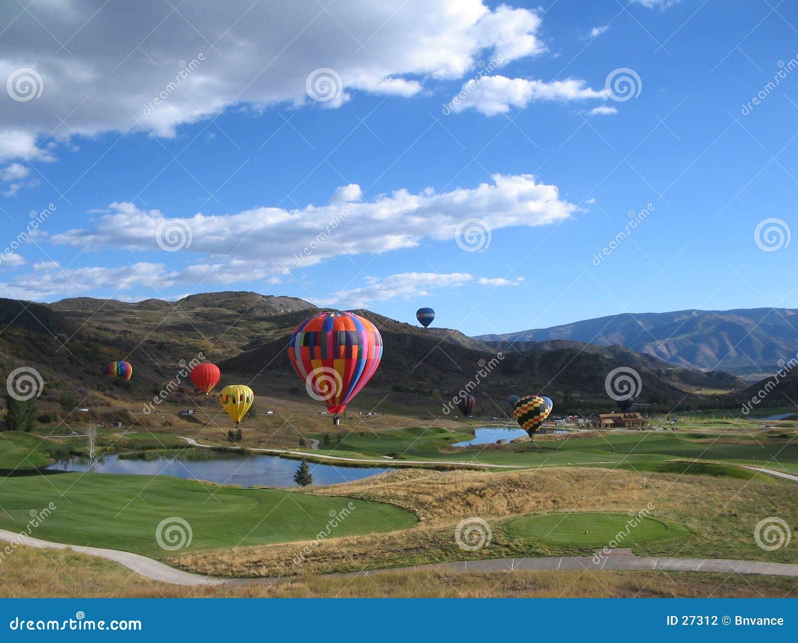 Gorące snowmass balonów lotniczych