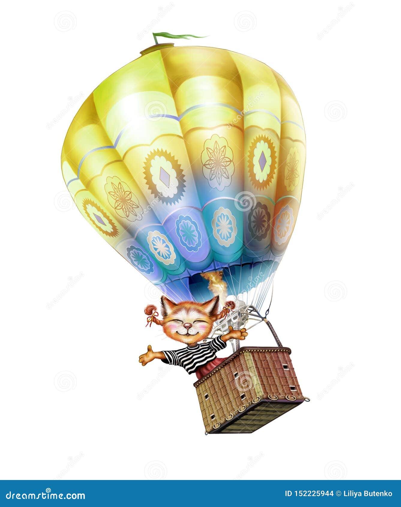 Gorącego powietrza ballooner