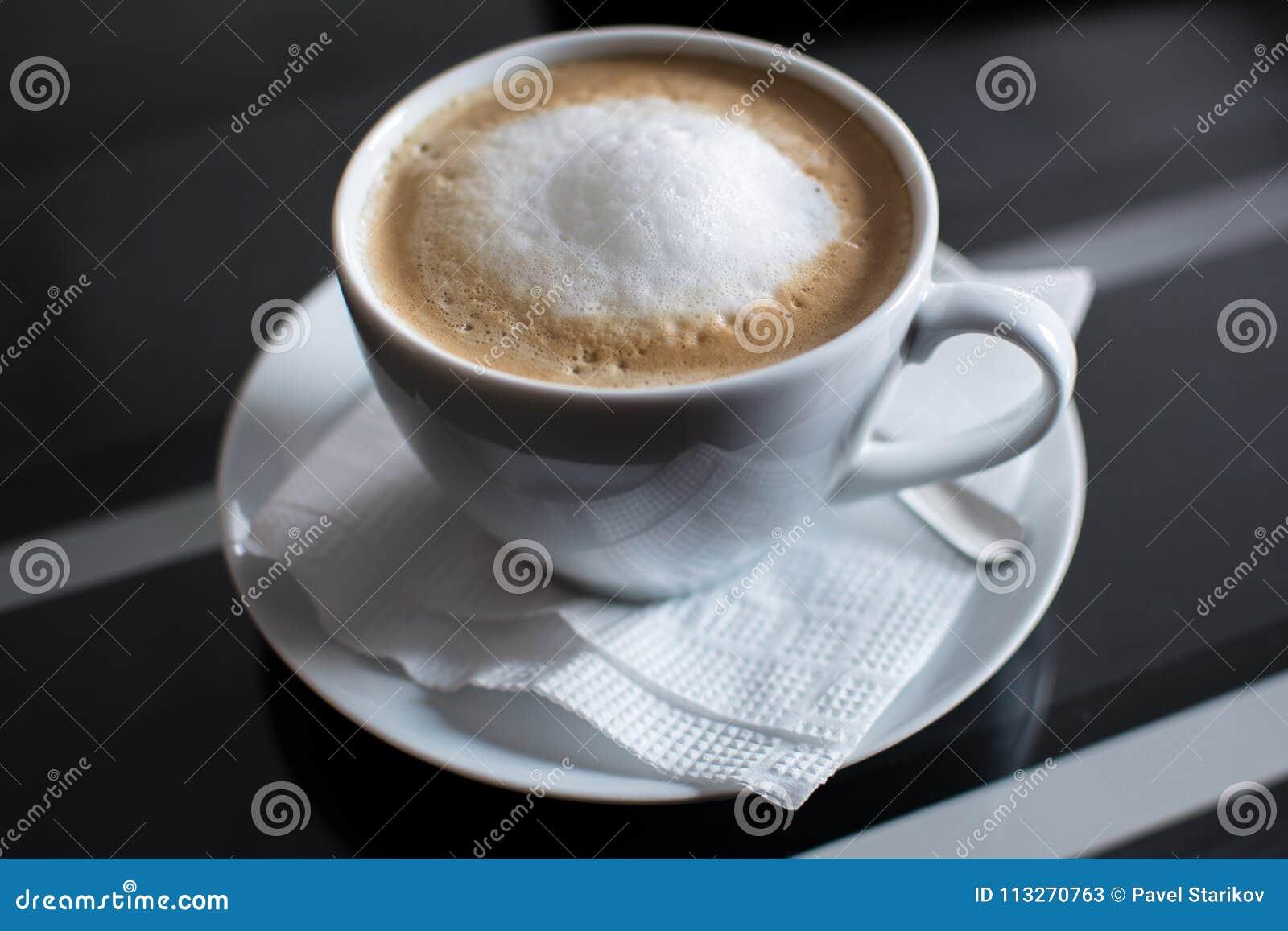 Gorący coffe, miękka ostrość