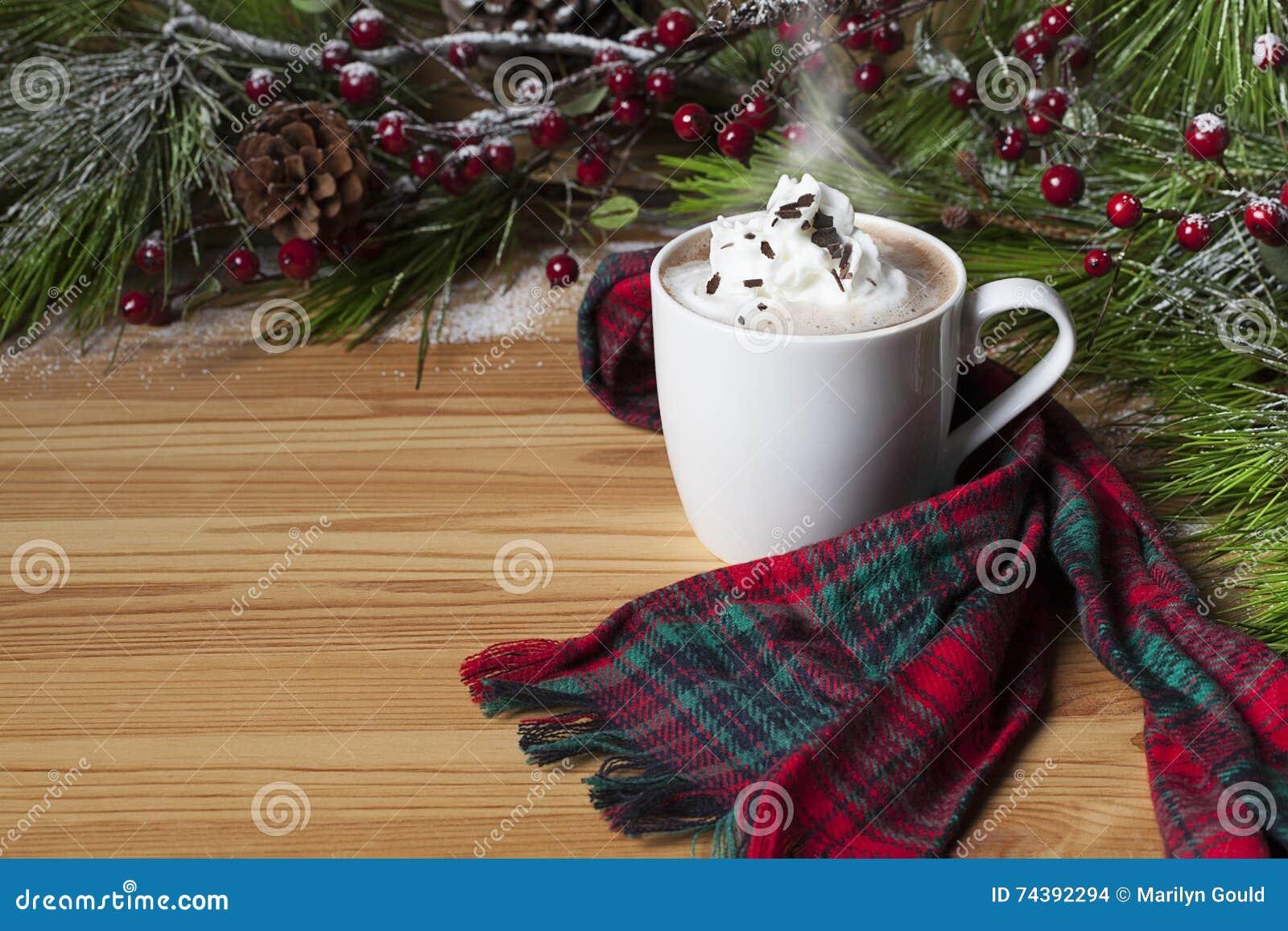 Gorący kakao Batożąca śmietanka