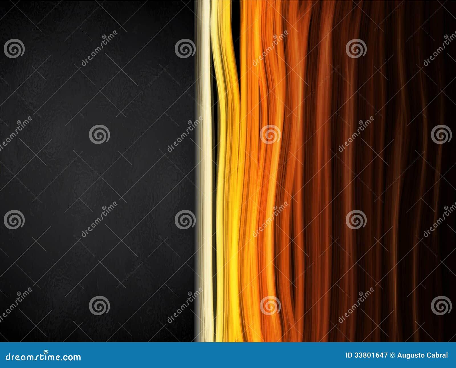 Gorący kolorów lampasów tło z czerni ramą