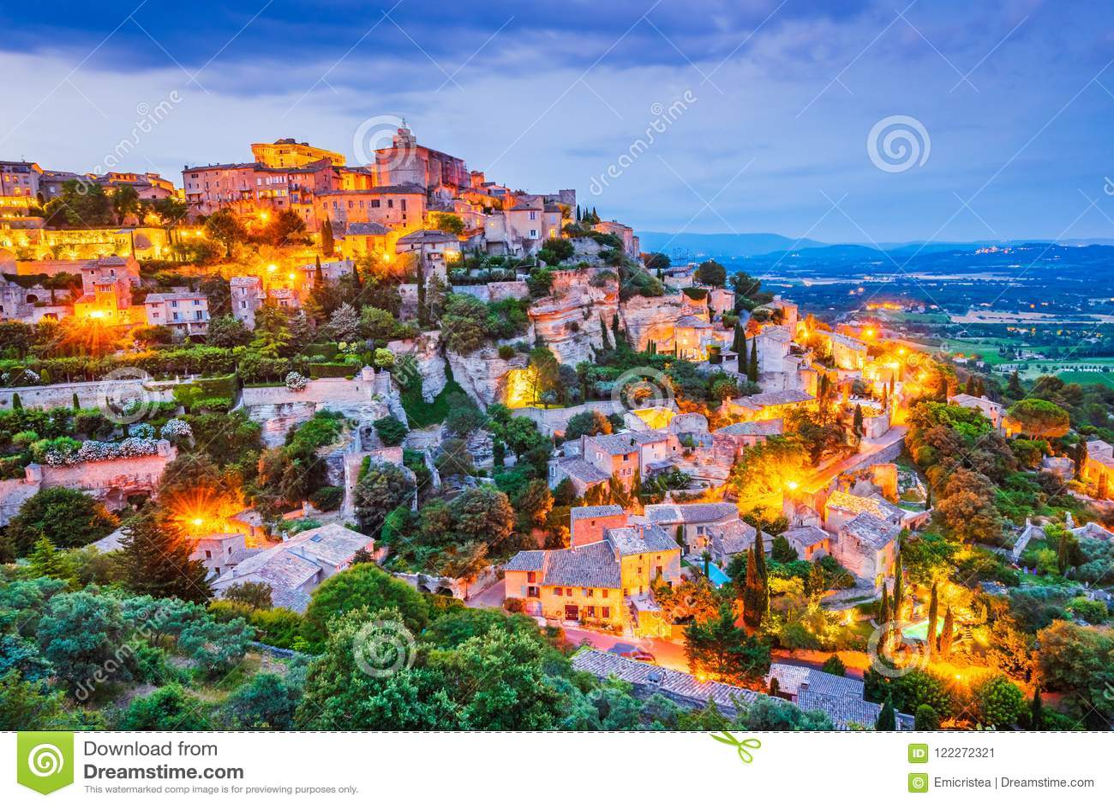 Gordes, Provence em França
