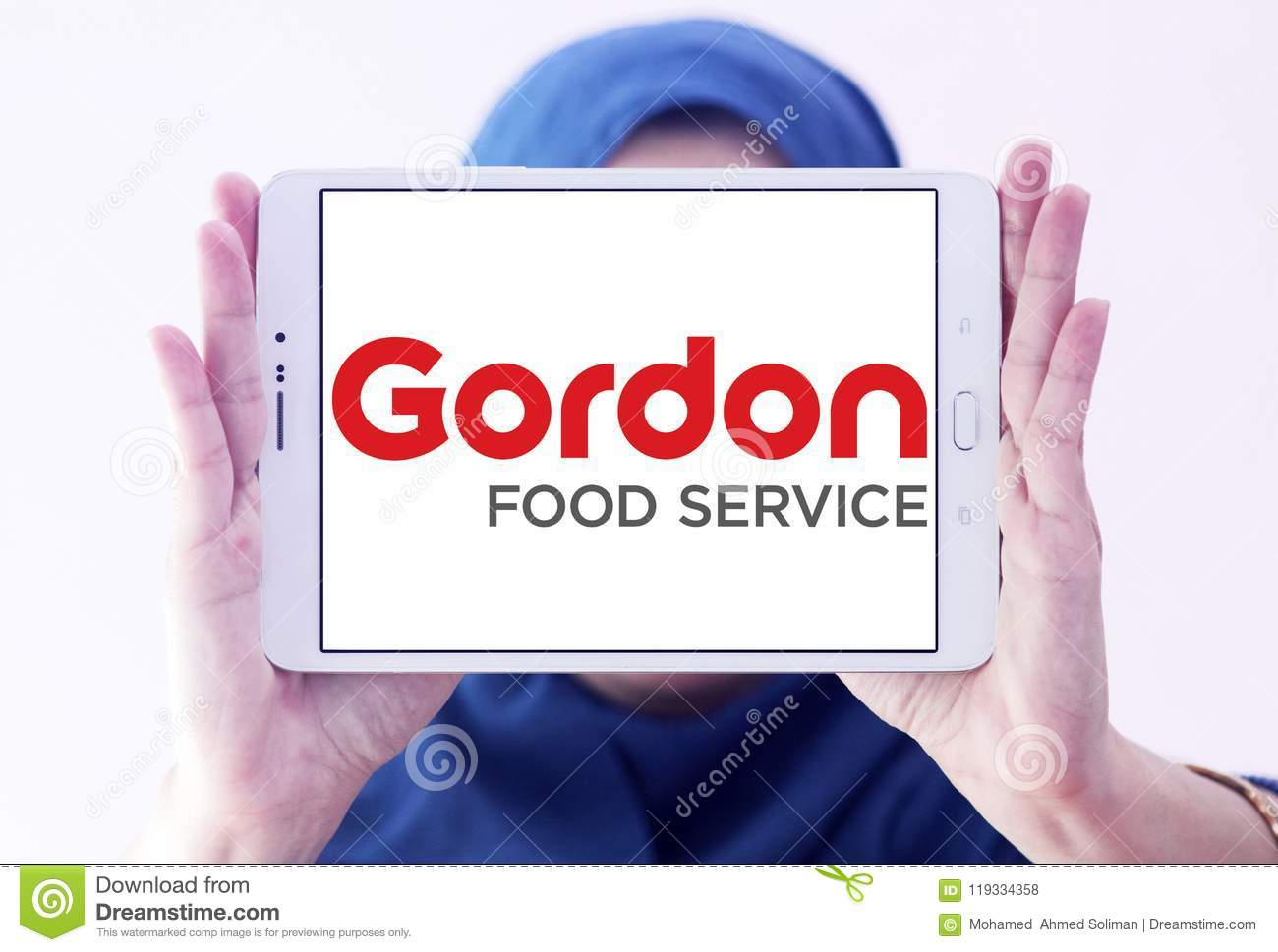 Gordon Food Service logo editorial stock photo  Image of editorial