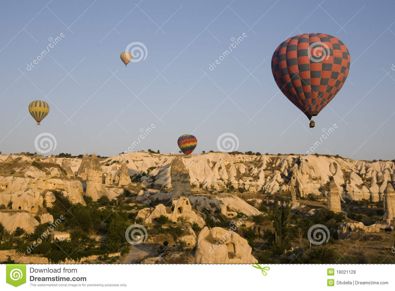 Goreme Valley - Hot Air Balloons at sunrise