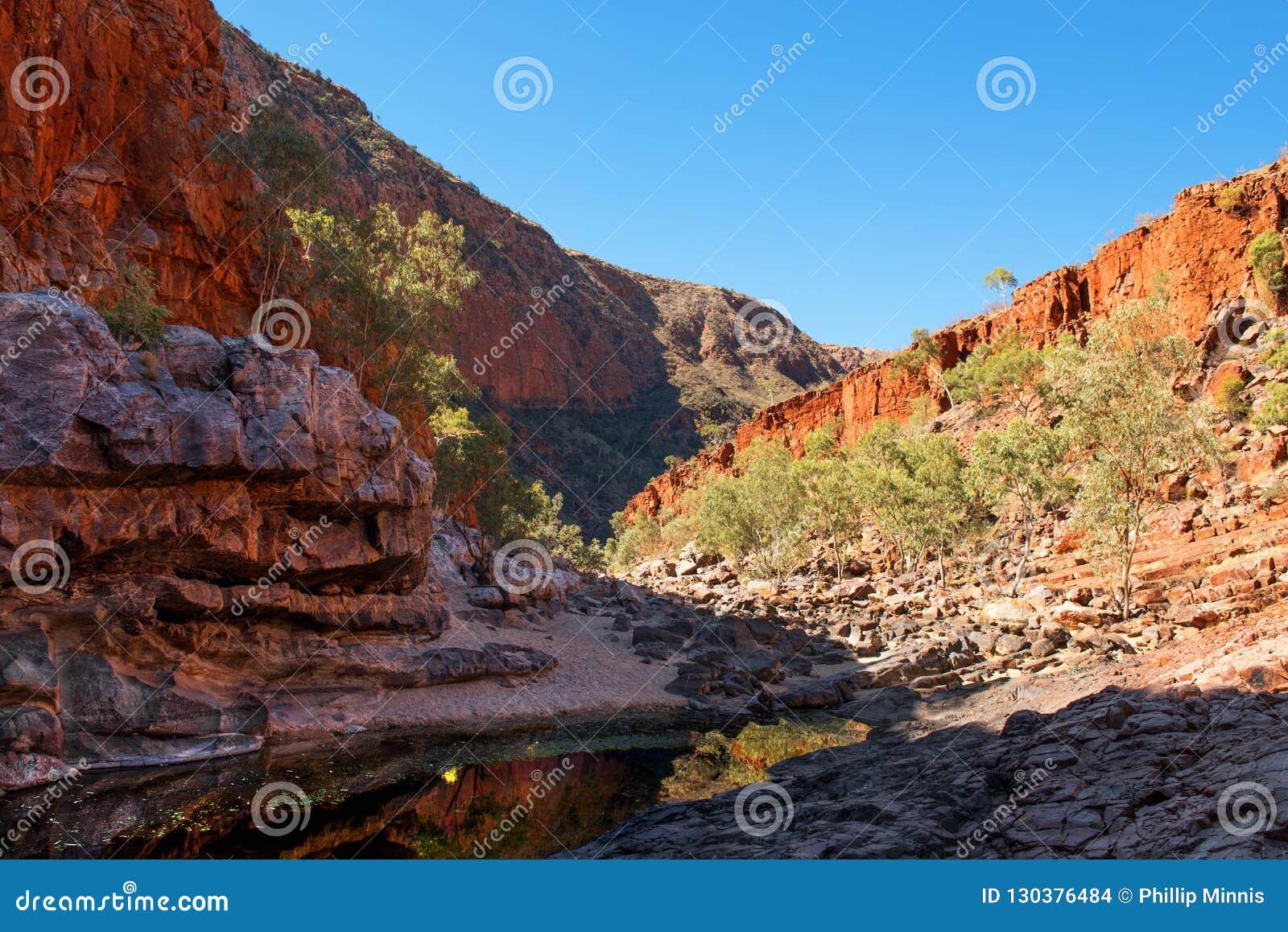 Gorge d Ormiston, territoire du nord, Australie