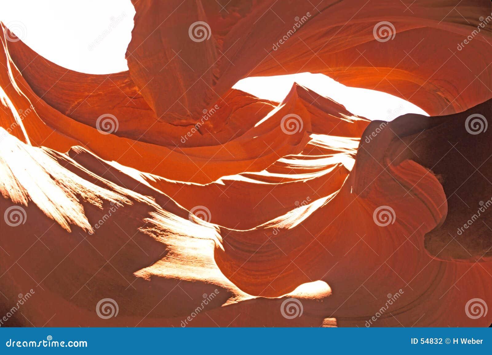 Download Gorge de fente photo stock. Image du formation, grès, fortement - 54832