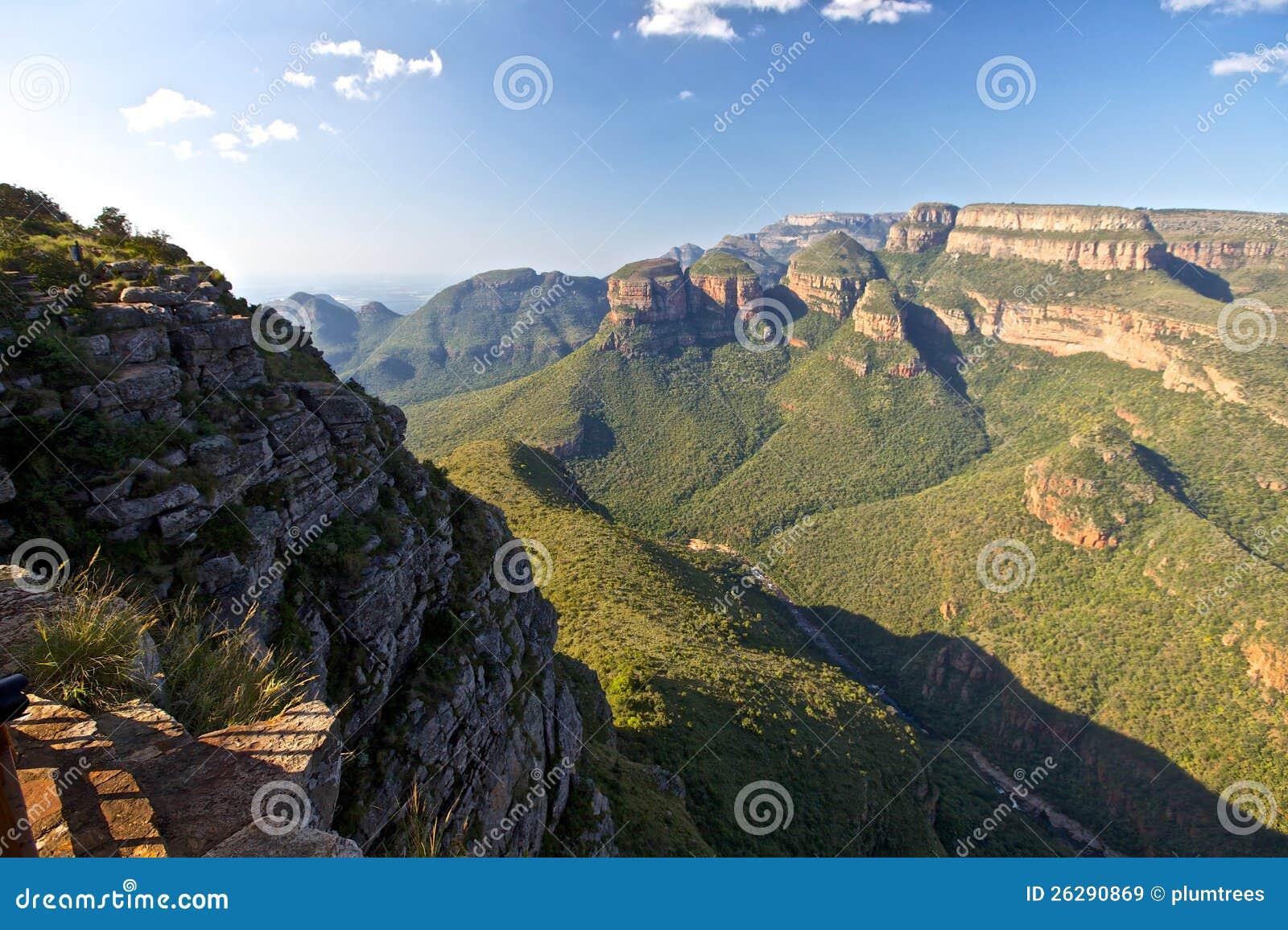Gorge de fleuve de Blyde