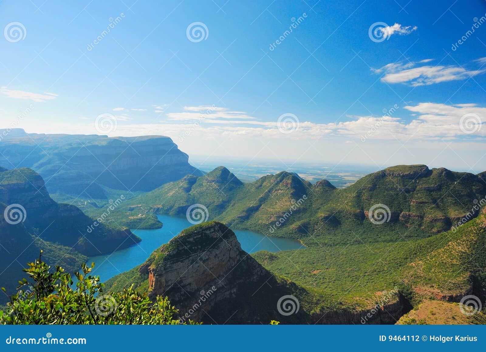 Gorge de fleuve de Blyde (Afrique du Sud)