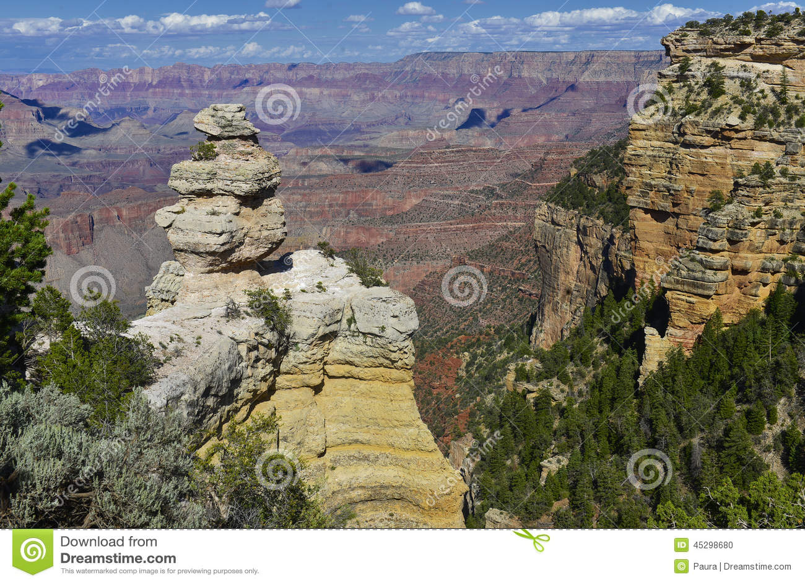 Gorge de l Arizona grande