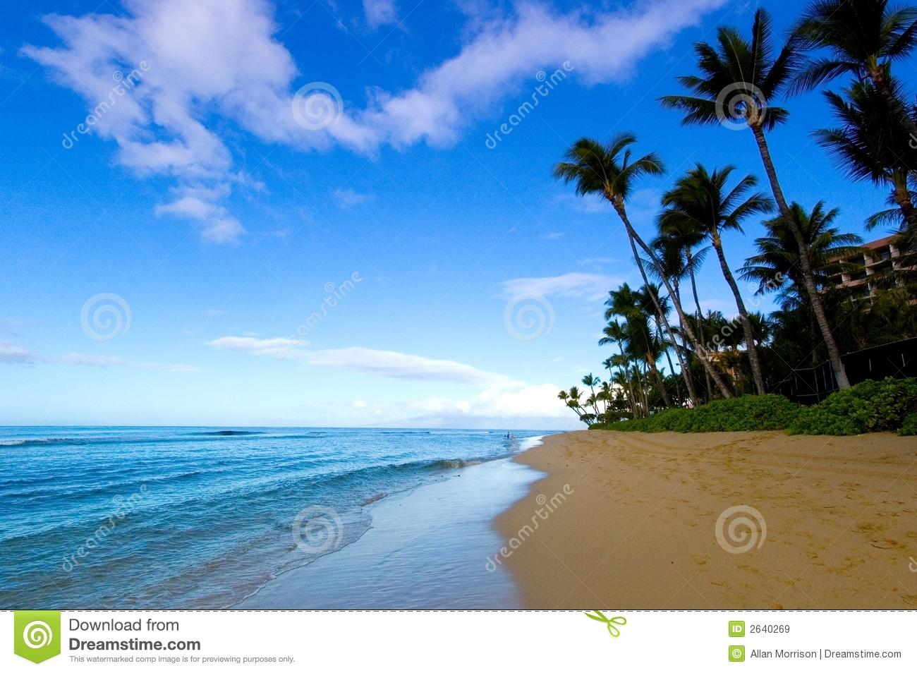 Gorgeous Beach View Royalty Free Stock Images Image 2640269
