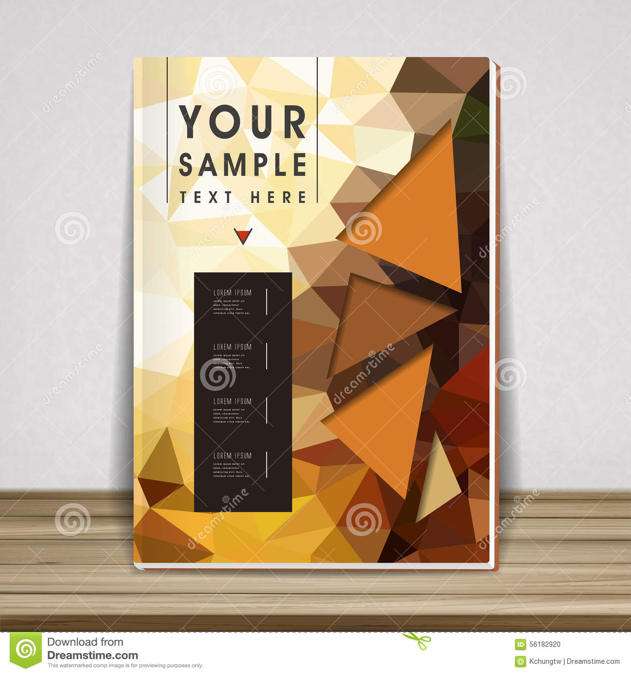 Book Cover Design Elements : Gorgeous book cover template design stock vector image