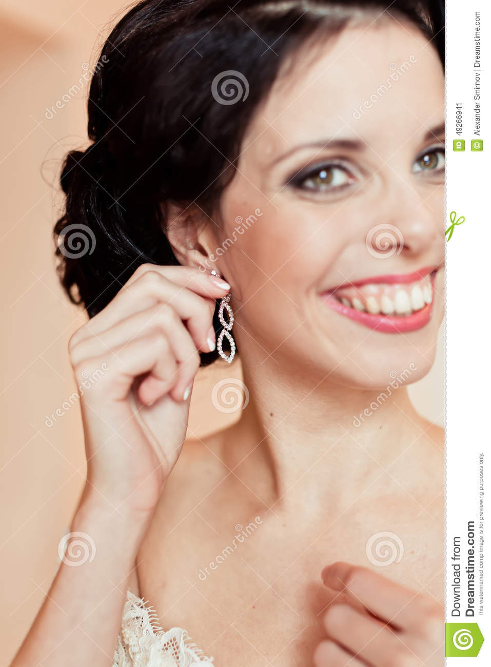 wearing earrings necklace drop an are the topic img earings wedding updo and also with be help accents pearls ll no these a have day in doing high will earring ones diamond neckline i