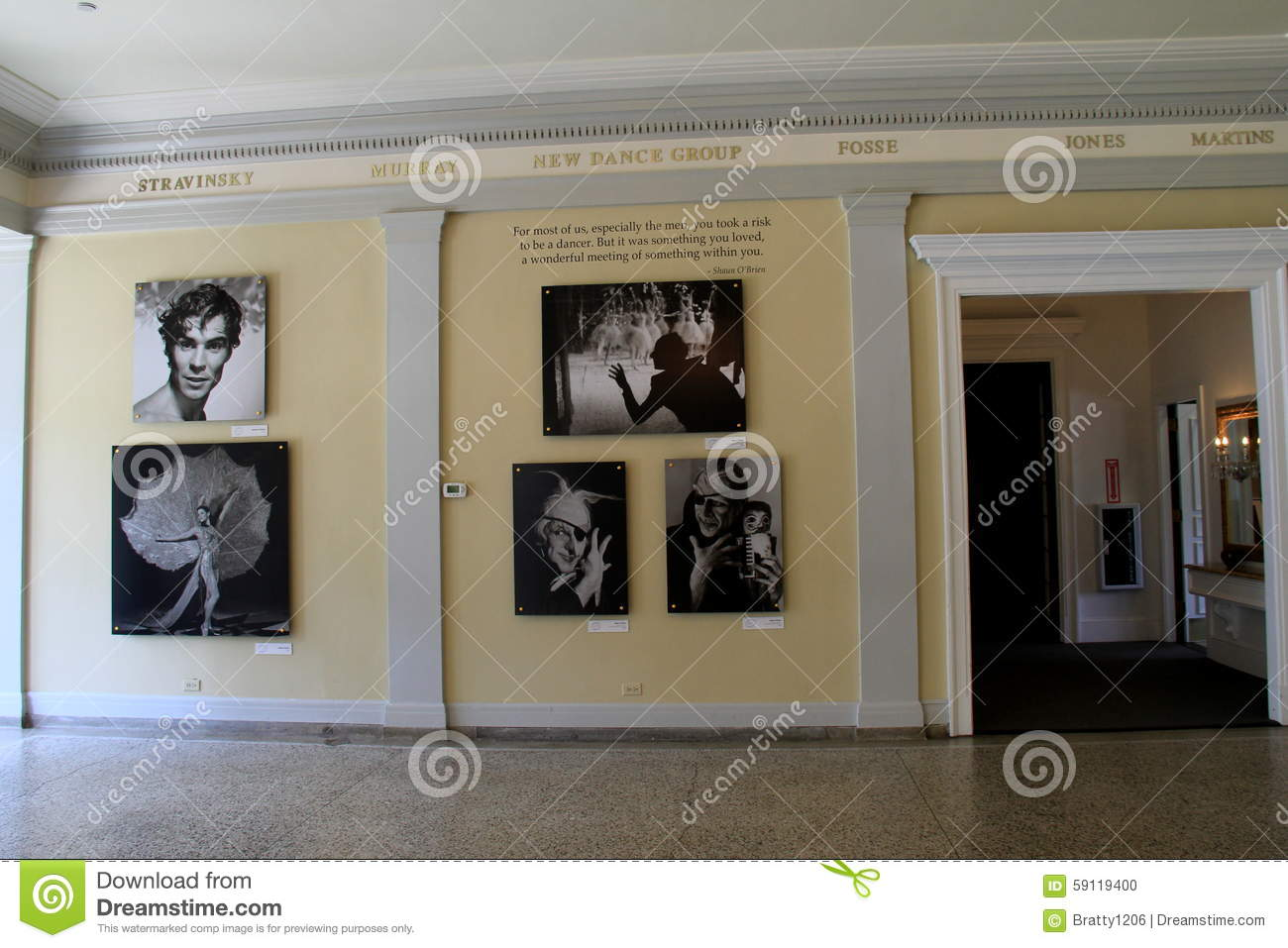 Gorgeous Images Of Famous Dancers Set Along The WallsNational - Most interesting museums in us