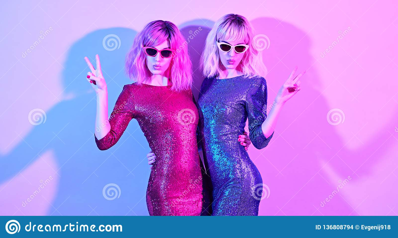 96e9b597 Fashion. Disco Party Girl Dance In Holiday Outfit Stock Photo ...
