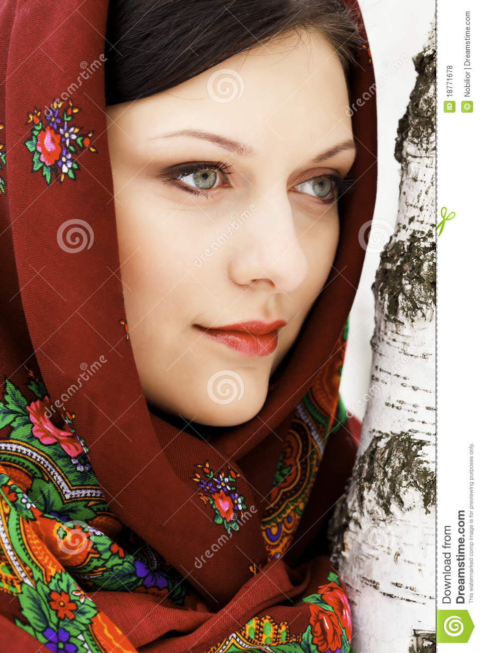 Your Tie Russian Woman 35