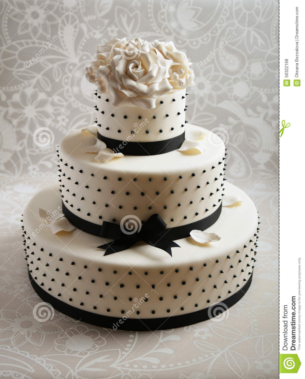 wedding cake fondant or royal icing gorgeous wedding cake stock photo image of wedding 22691