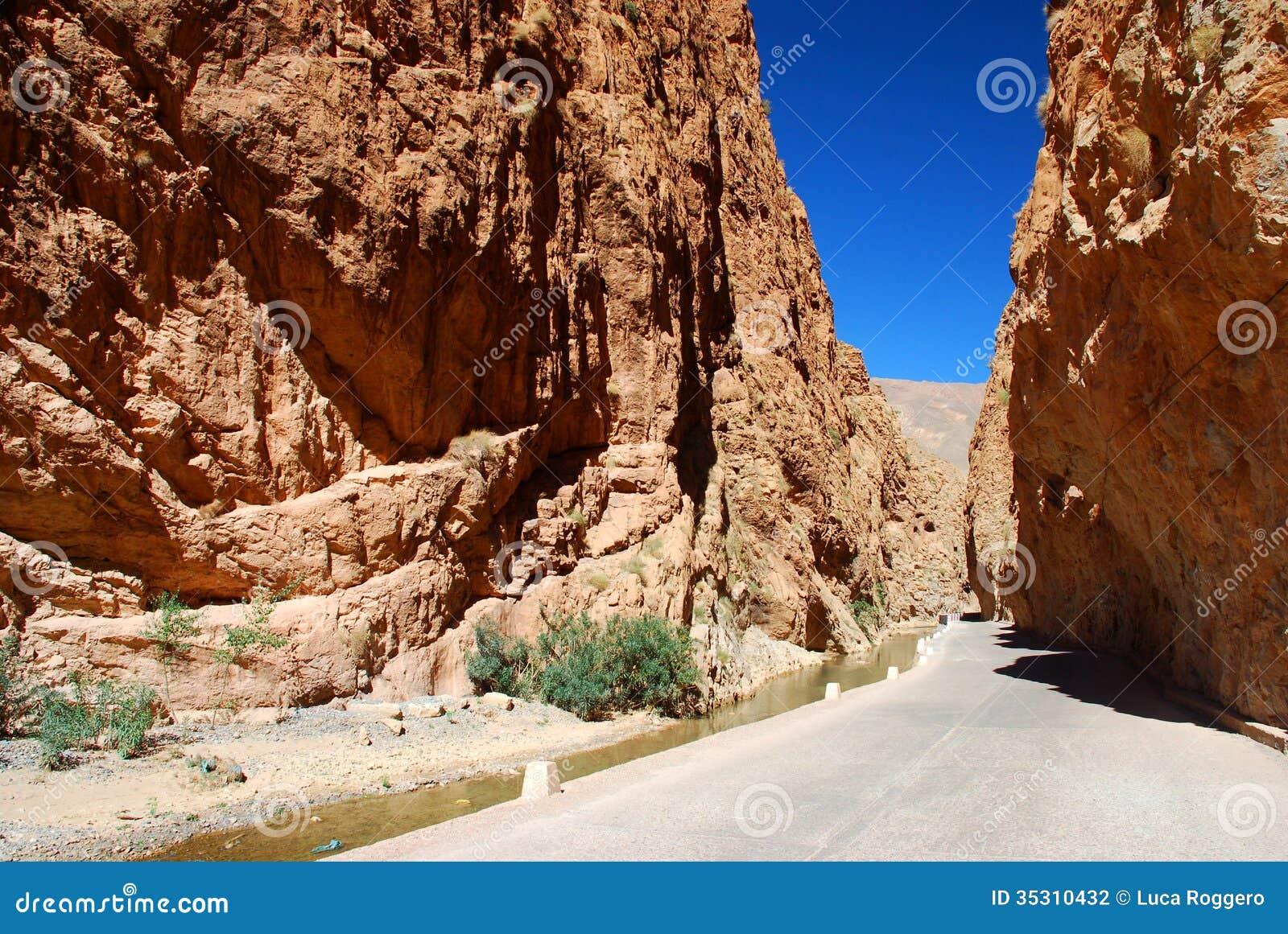Gorges de Dadès. Maroc