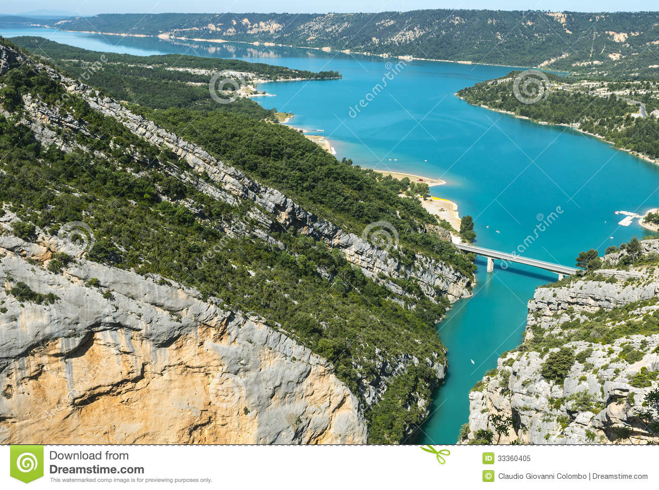 gorges du verdon stock image image of rock d azur 33360405. Black Bedroom Furniture Sets. Home Design Ideas