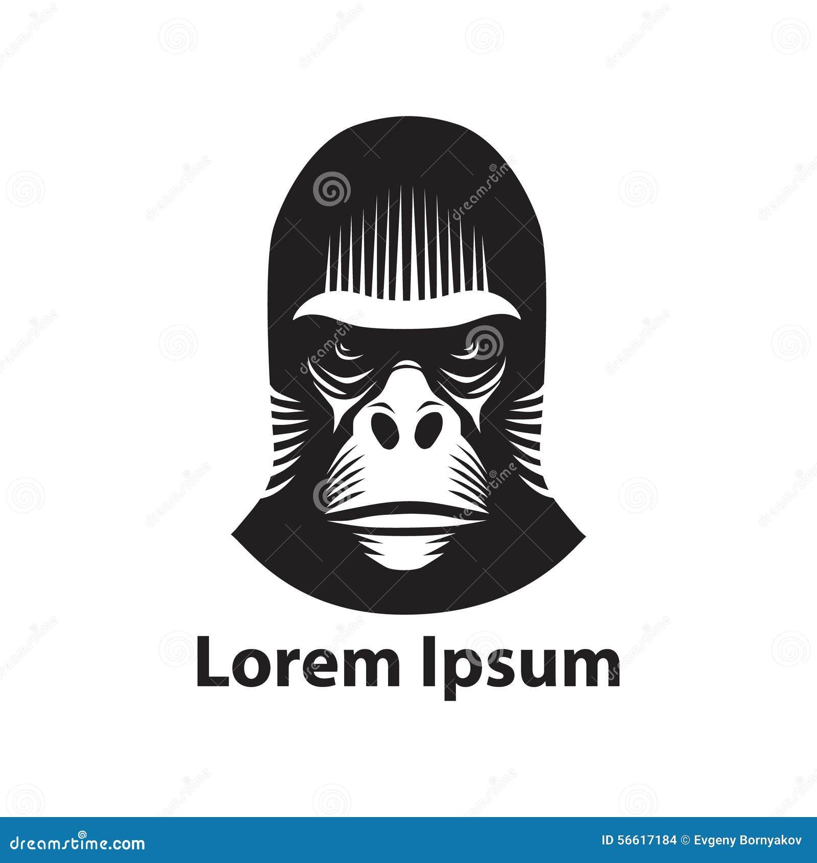 Gorilla vector head - photo#18