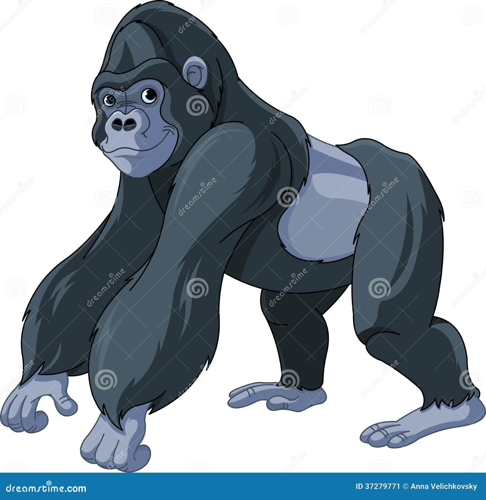 Gorilla Stock Image - Image: 37279771
