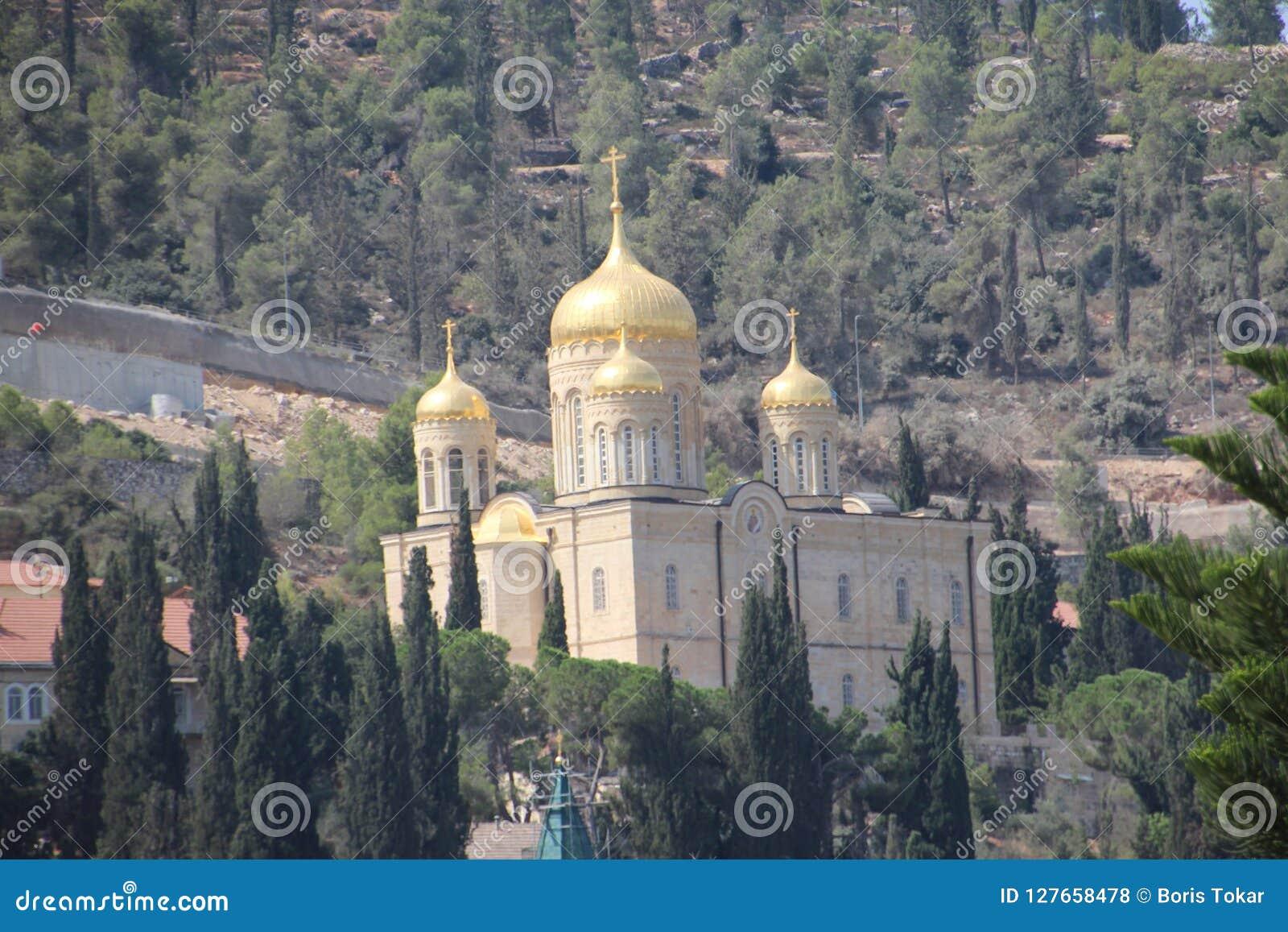 Gornensky女修道院在耶路撒冷Ein Karem