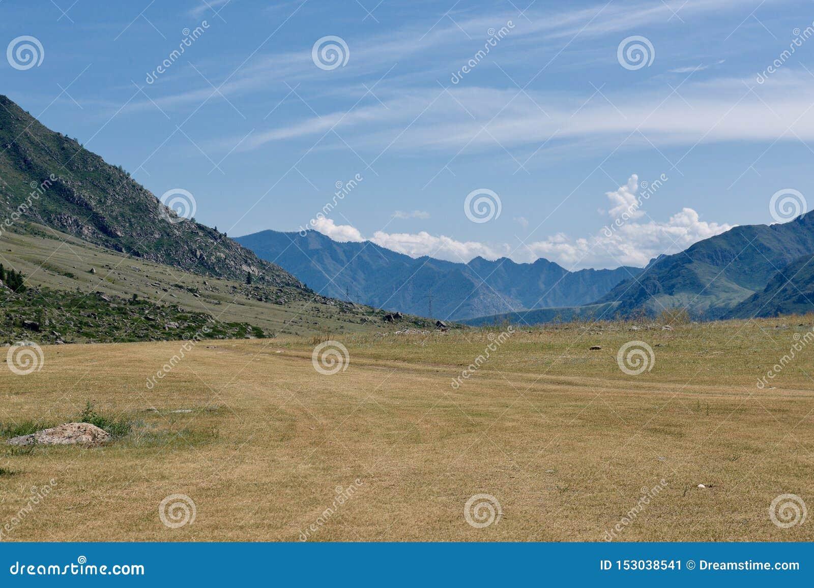 Gorny Altai, Sibirien, rysk federation