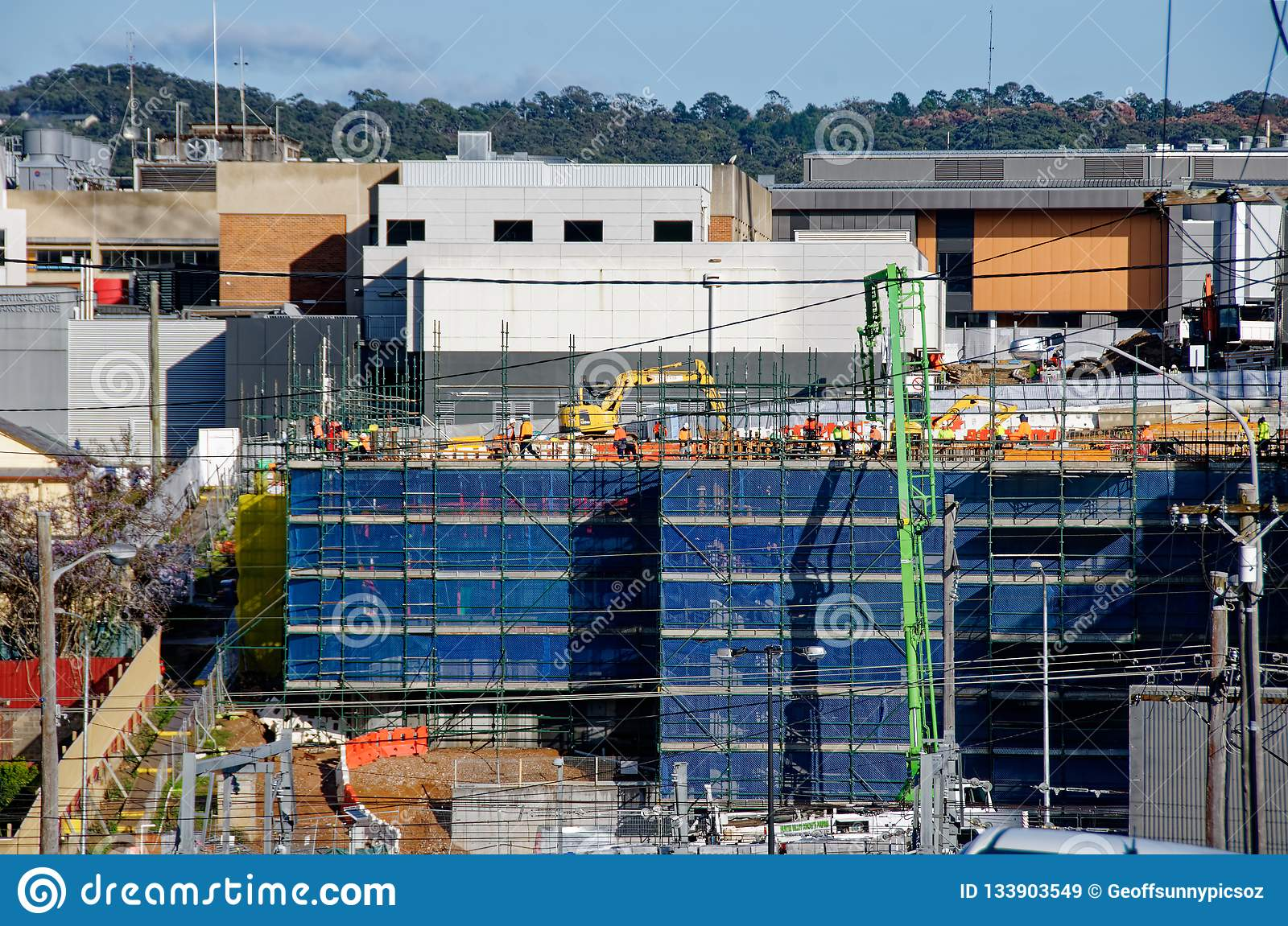 Gosford Hospital building progress H24ed February 2018