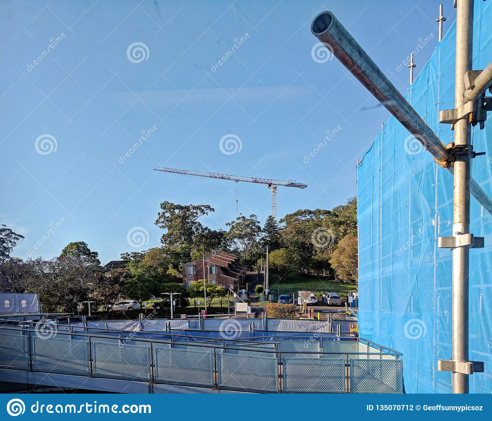 Gosford Hospital building progress H57ed October 2018