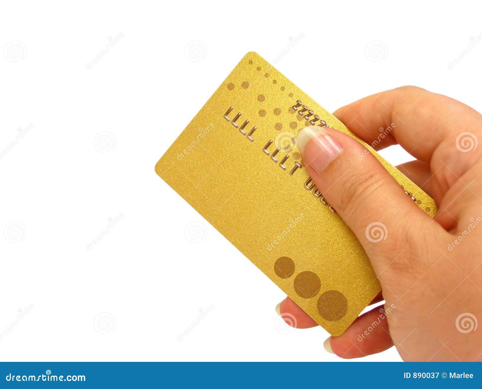 Gospodarstwa karty zawierać ścinku kredytu ścieżka ręce