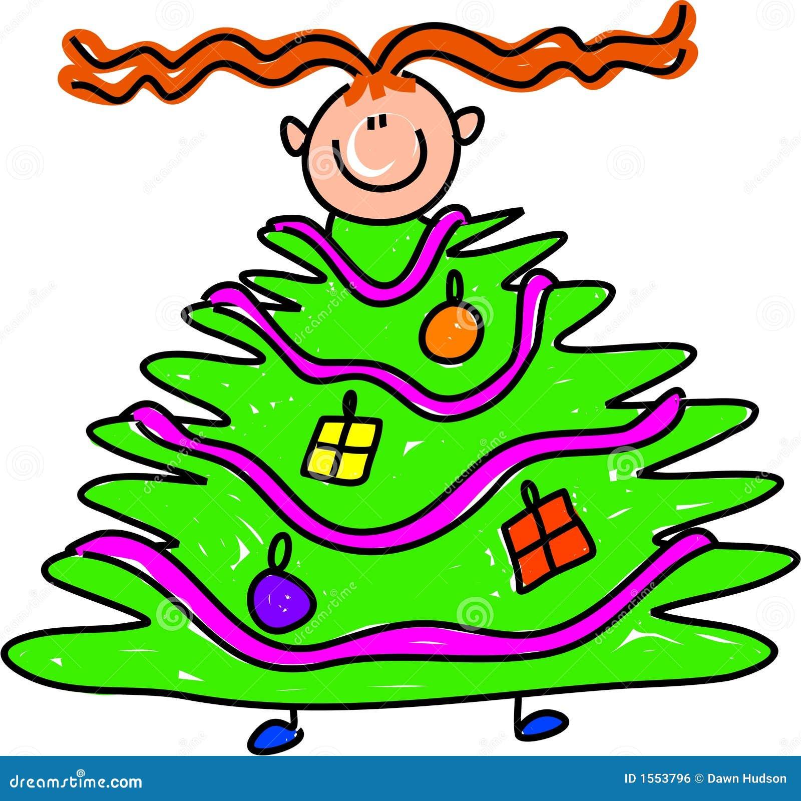 Gosse d arbre de Noël