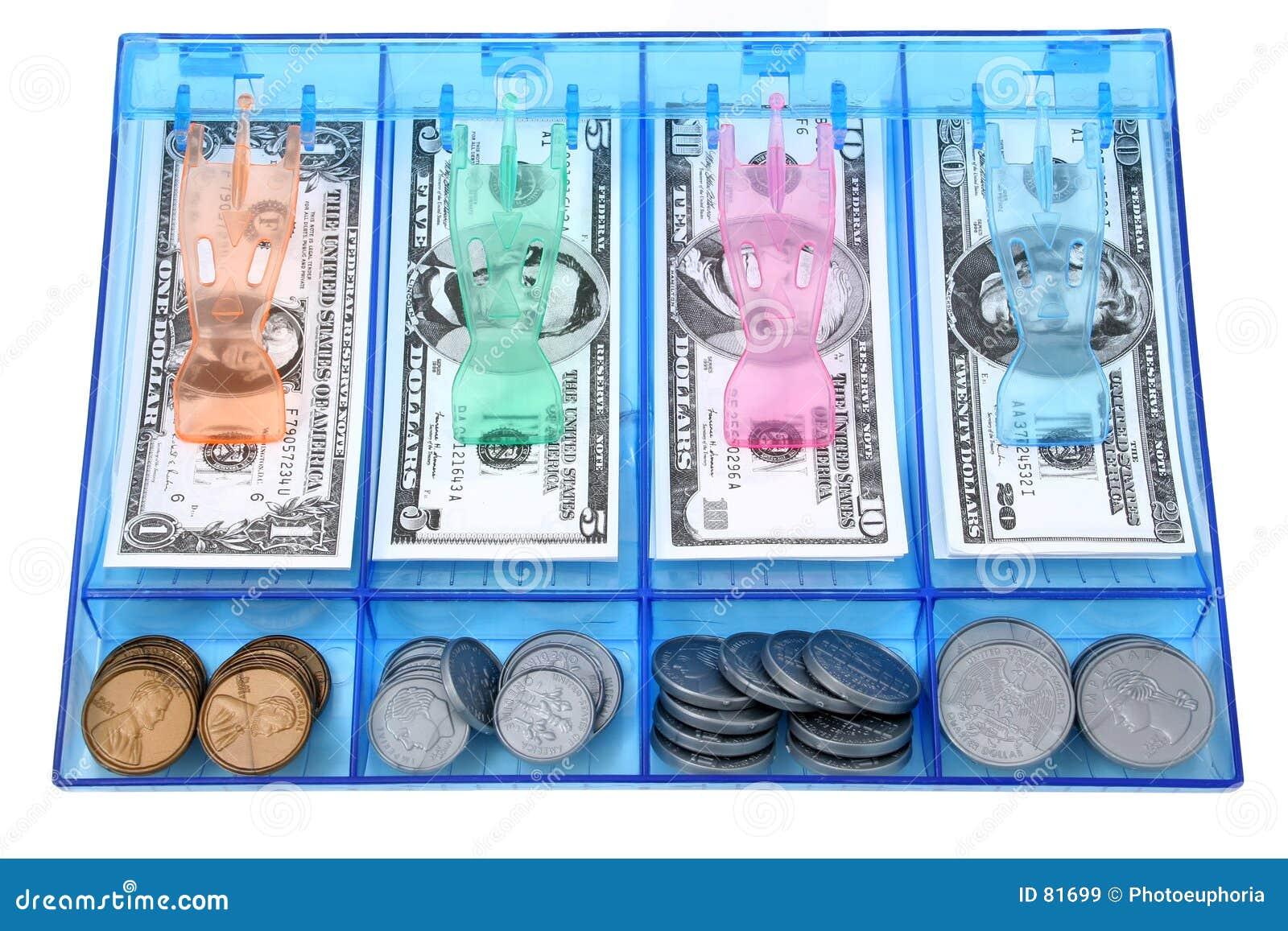 Gotówką mennicza zwrócić pieniądze gazety zabawka usd