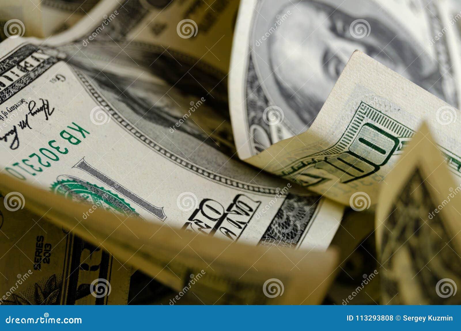 Gotówkowi USA dolary