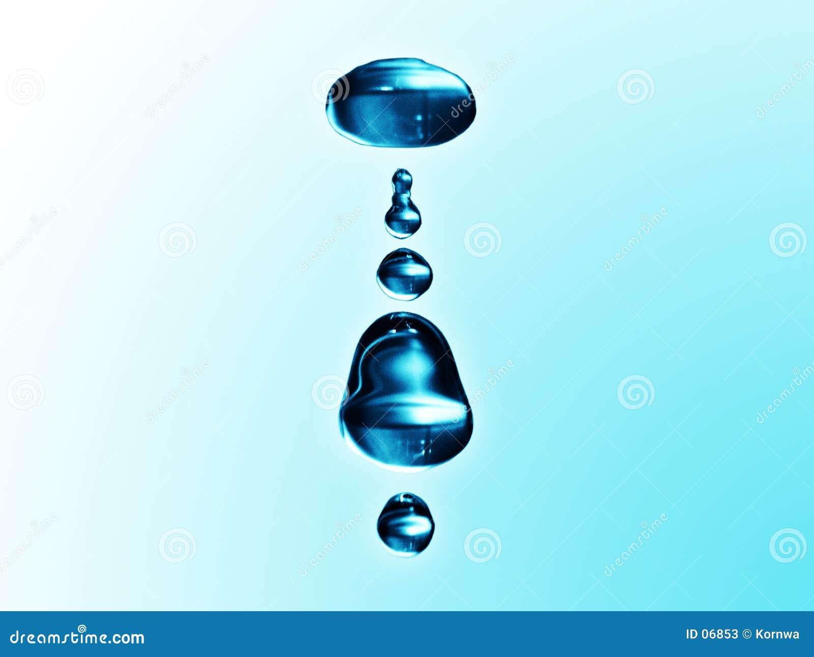 Gotas da água