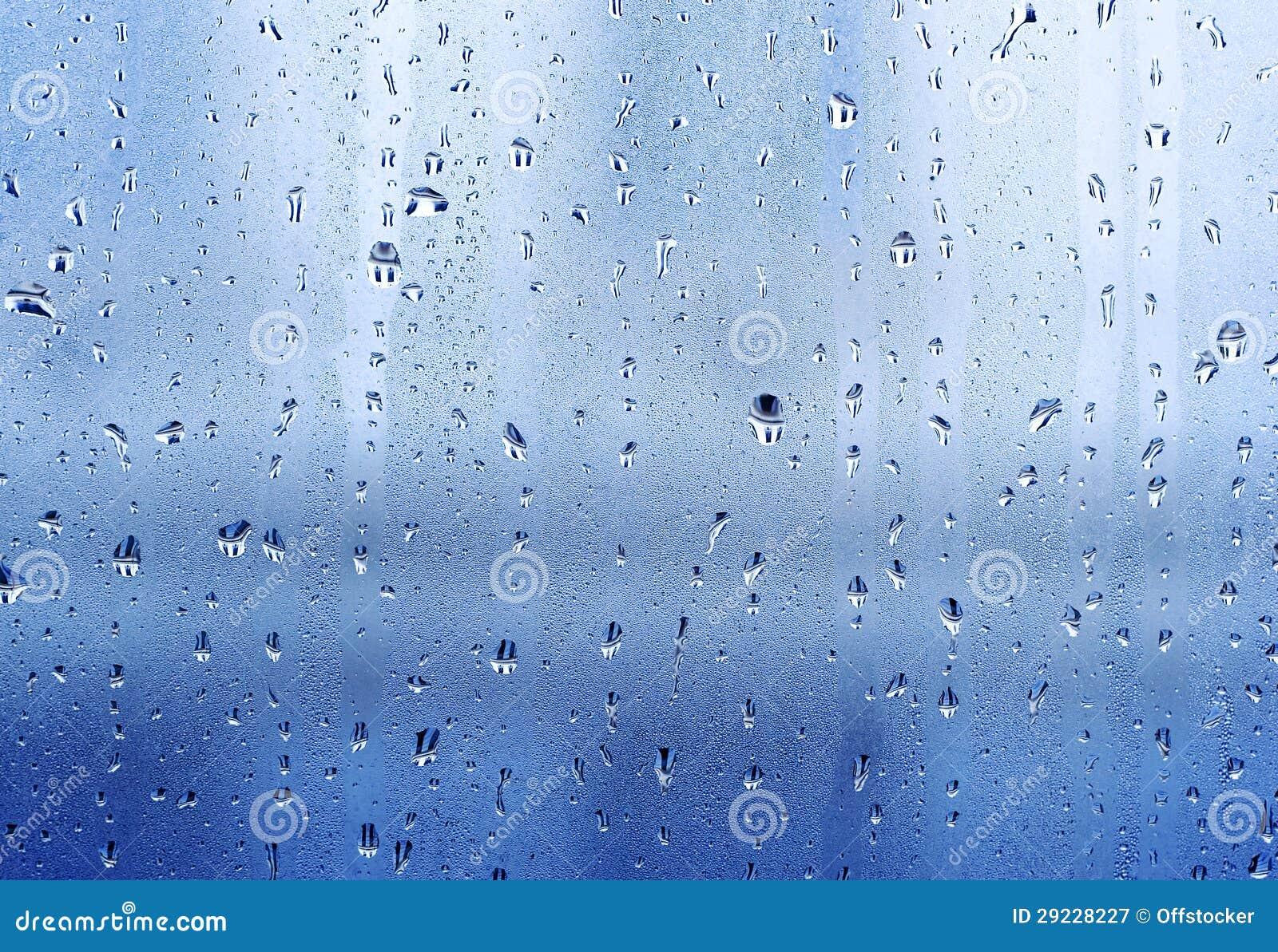 Download Gotas no windowpane imagem de stock. Imagem de mottled - 29228227