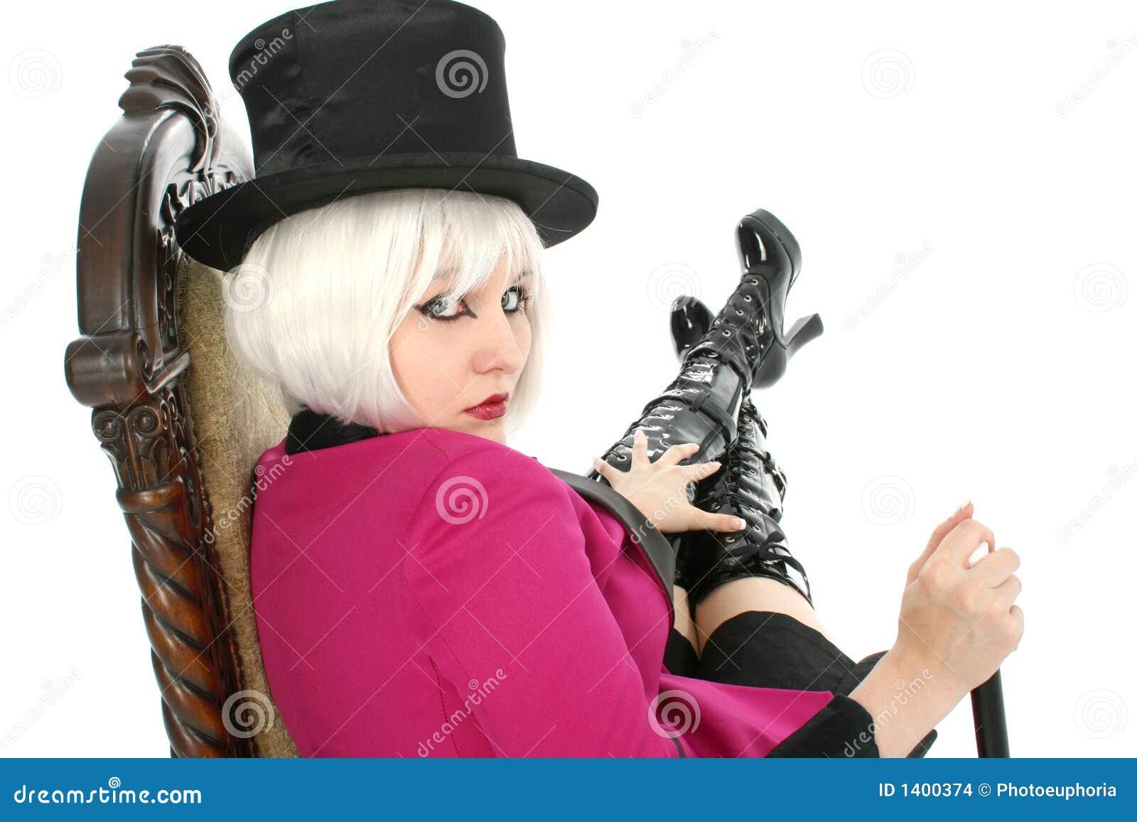 Goth adolescente