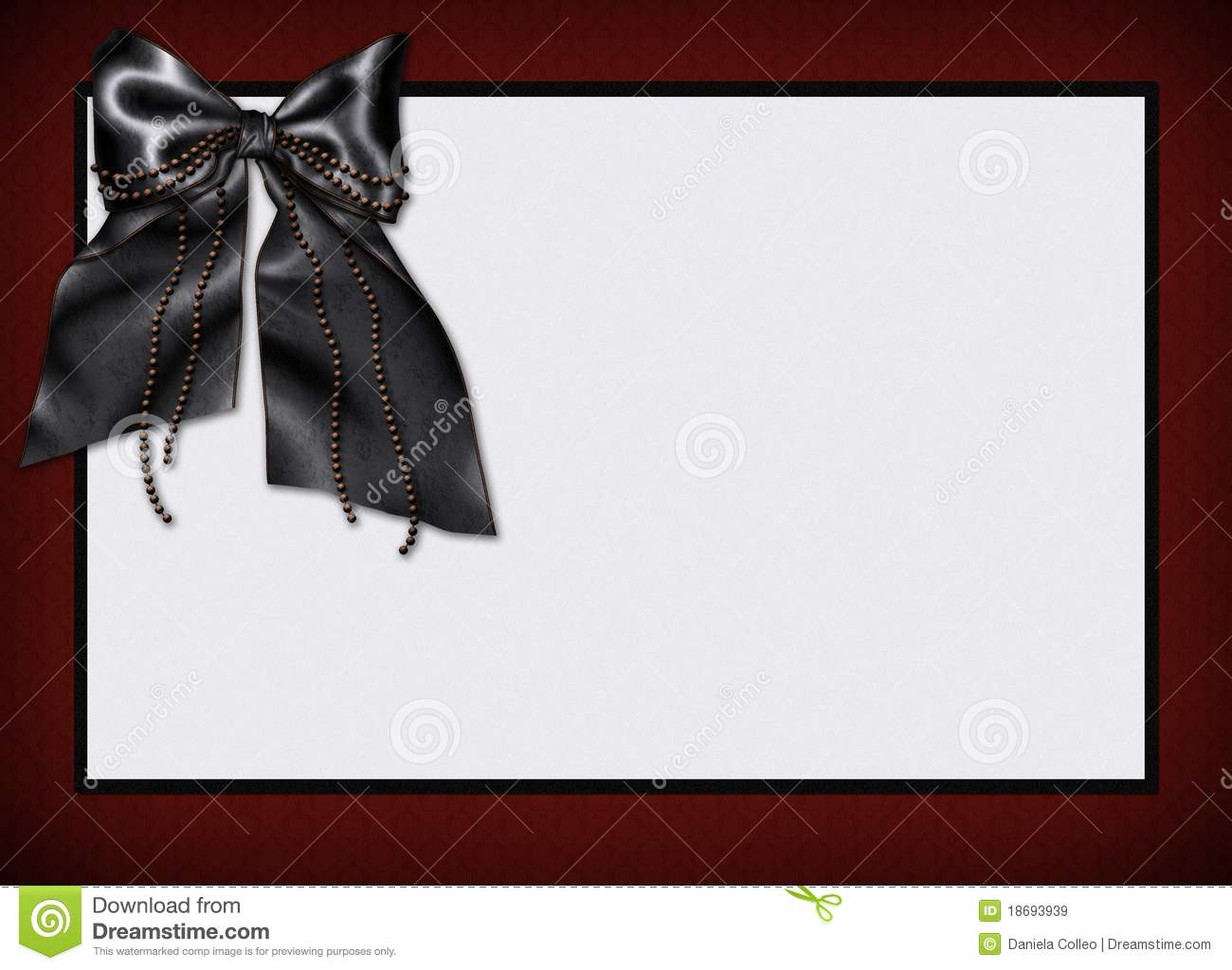 goth card menu invitation stock illustration  image of