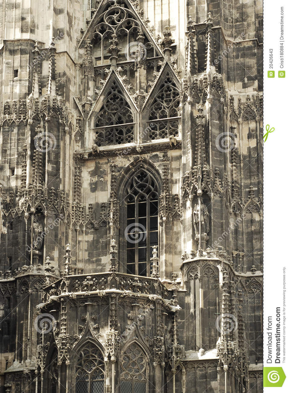 Gothic Architecture Stock Photos - Image: 20426643