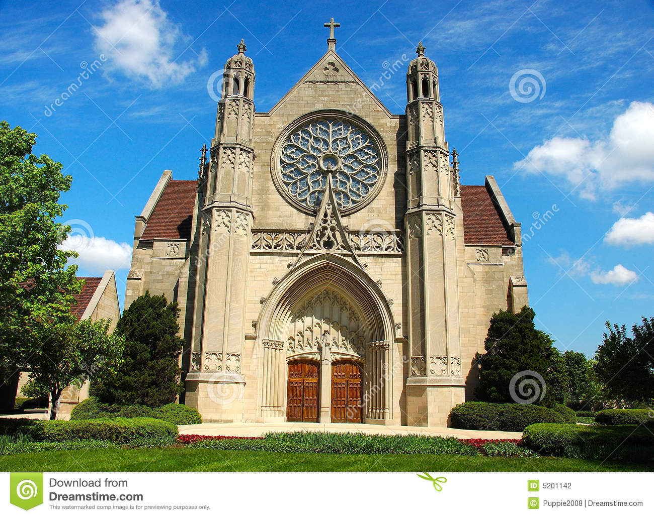 Gothic Architecture Church Stock Photography Image 5201142
