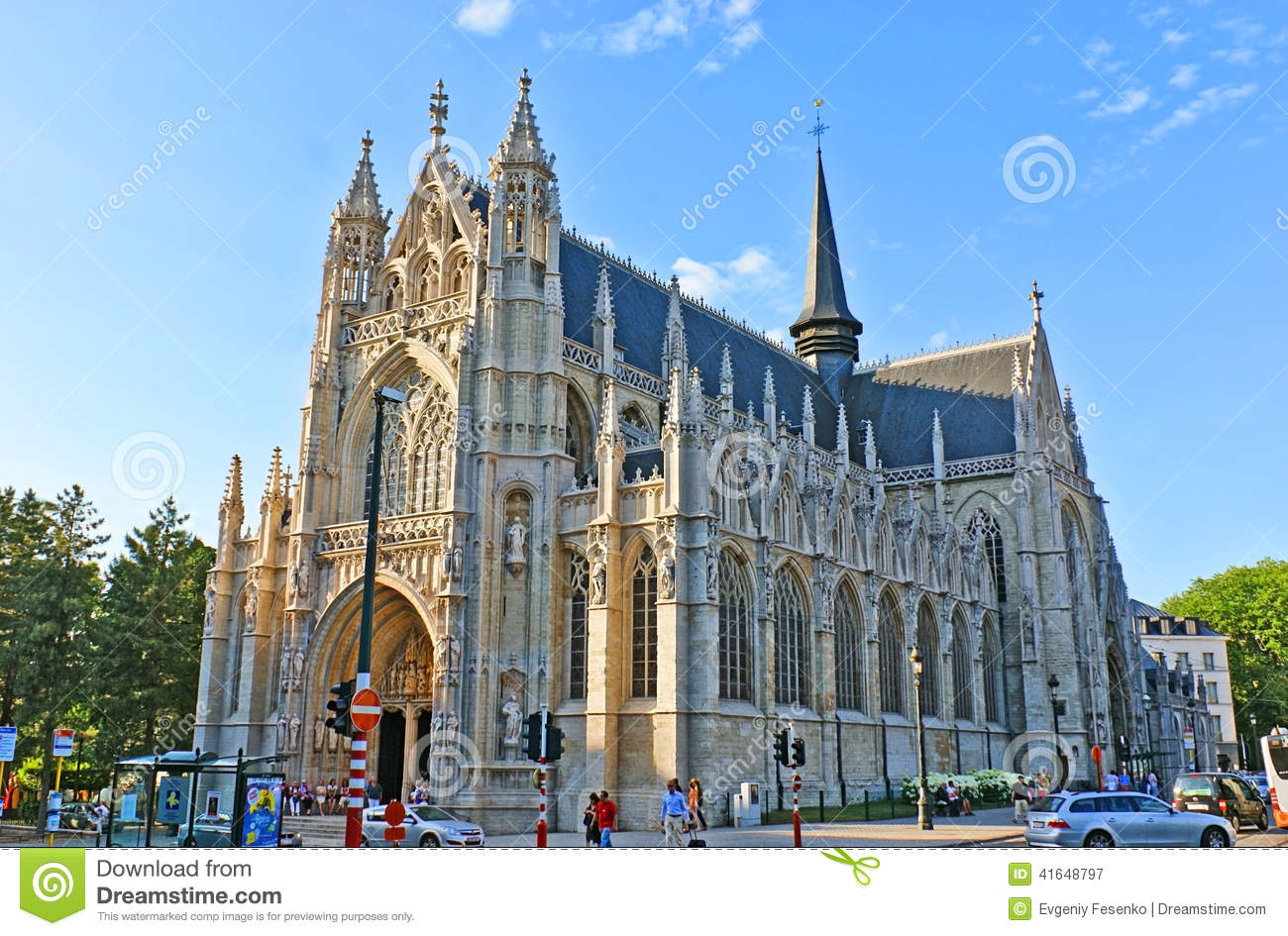 The gothic church editorial photography image of church for Architecture celebre