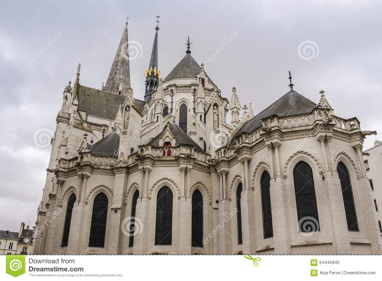 Gothic Church In France Stock Image Image Of Catholicism