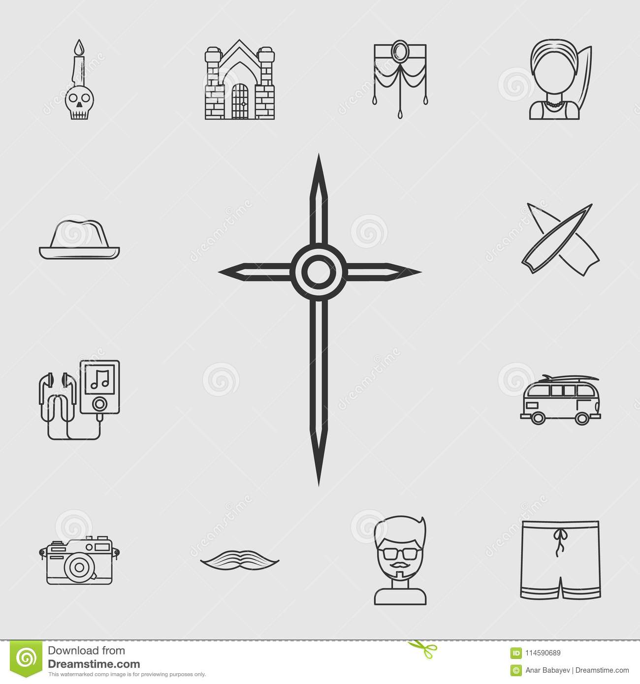 detailed set of life style icons  premium quality graphic design  one of  the collection icons for websites, web design, mobile app on grey background