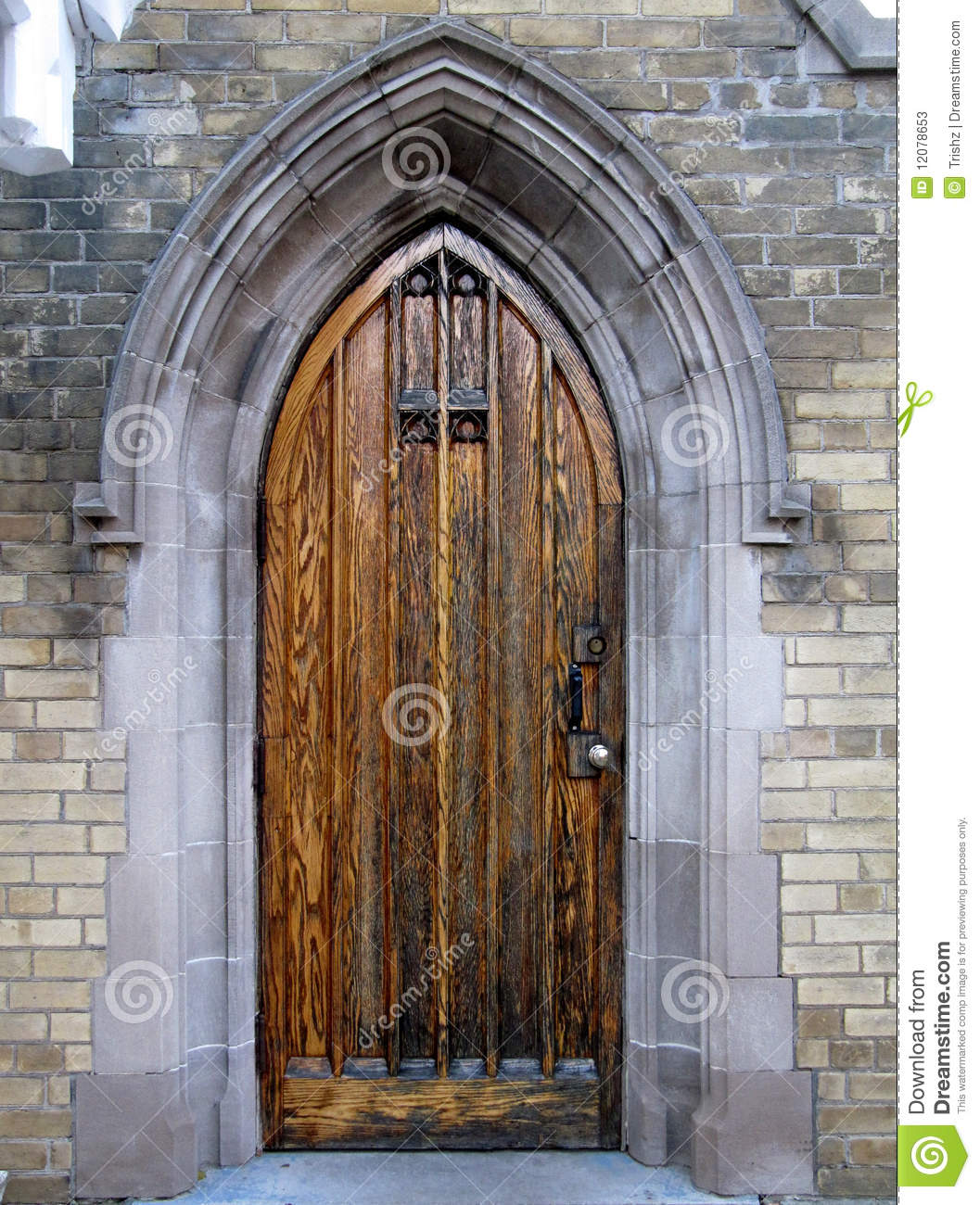 Gothic Door Stock Photos Image 12078653 & Gothic architecture doors Pezcame.Com