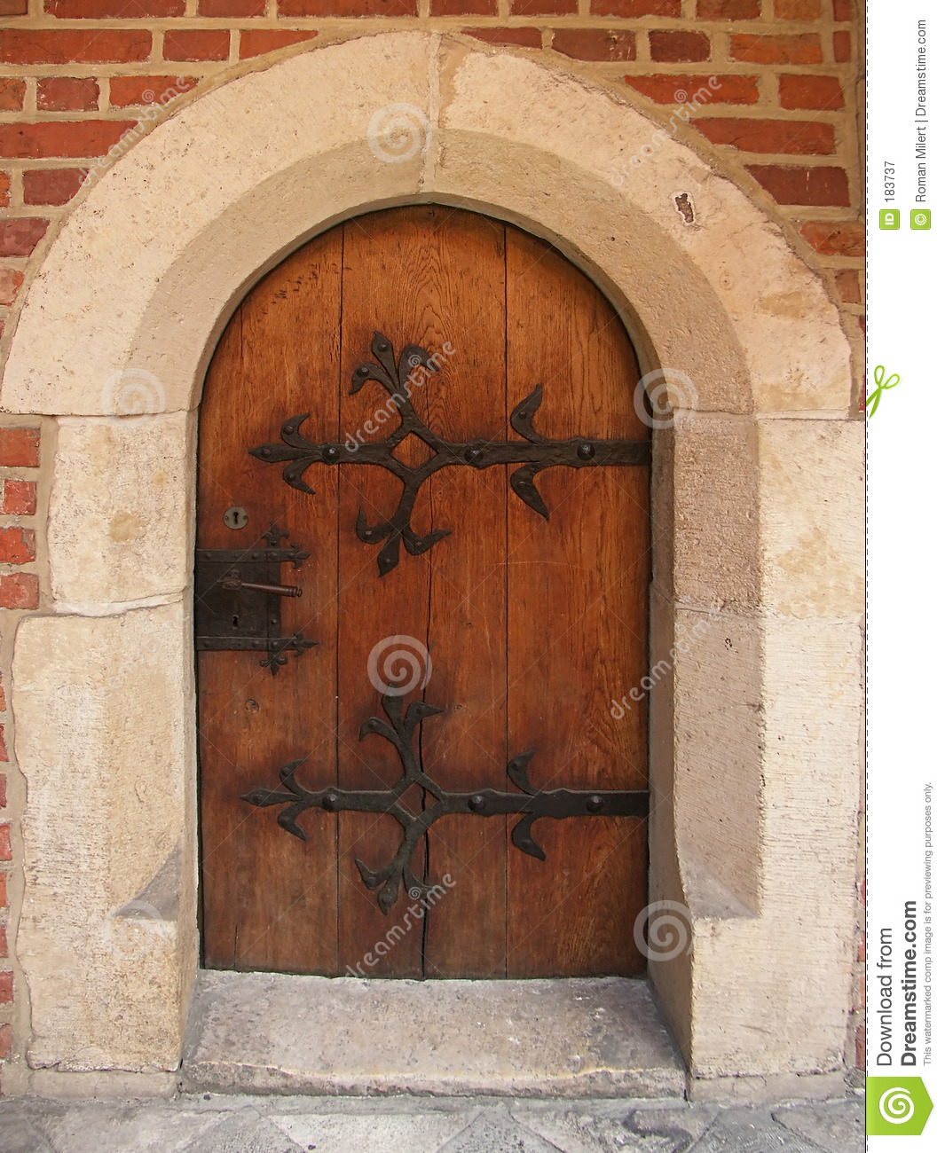 Gothic doors & Gothic Doors Royalty Free Stock Photography - Image: 183737 Pezcame.Com