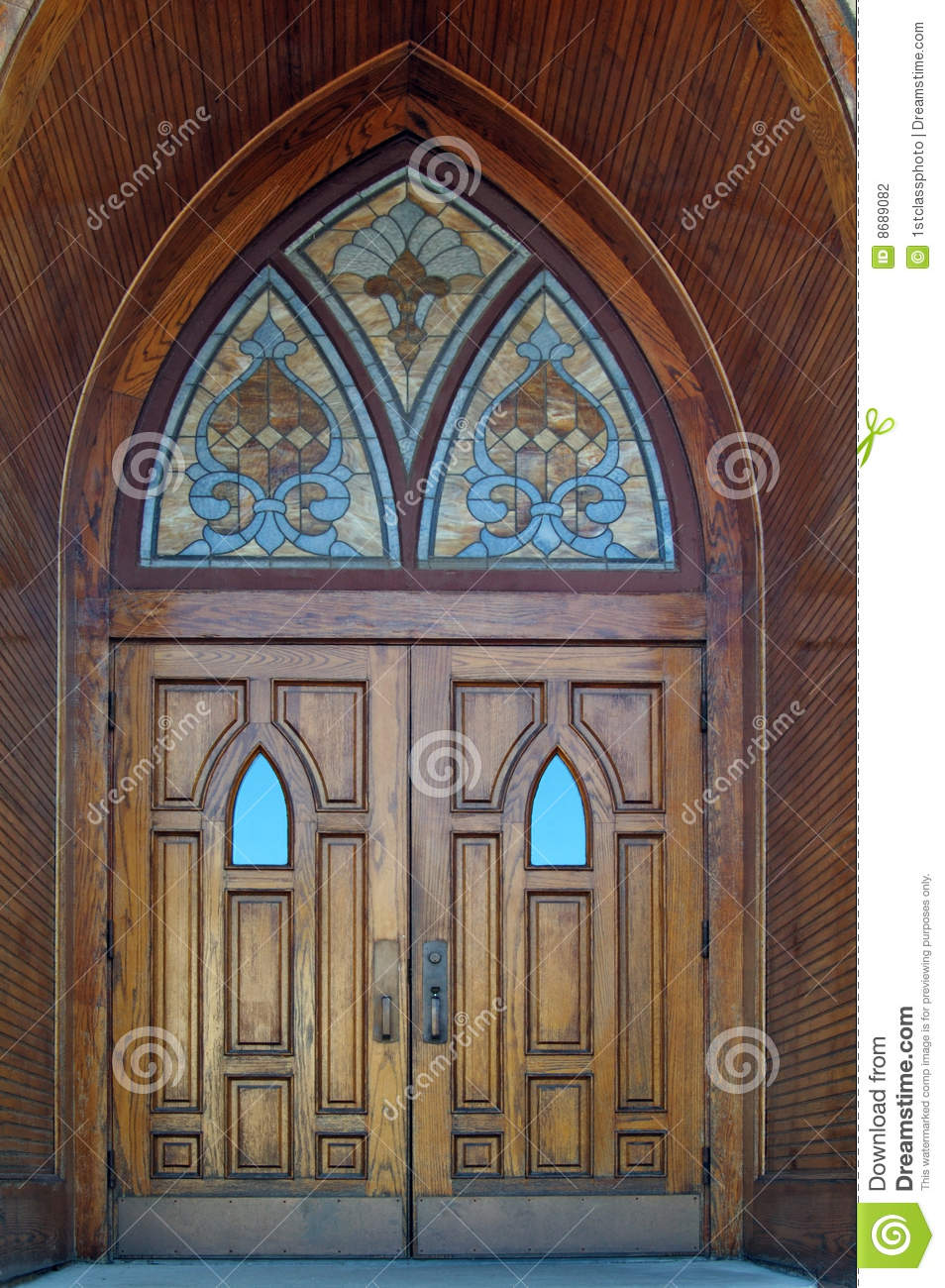 Gothic Doors Stock Photo Image Of Gothic Doorstep